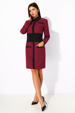 Платье Миа Мода 1188-2 бордо