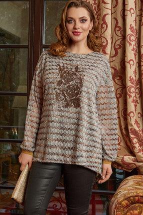 Блузка Lissana 4167 серый