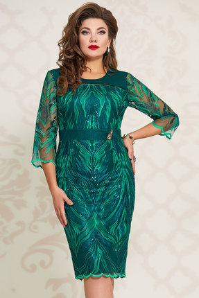 Платье Vittoria Queen 11833/1 изумрудный