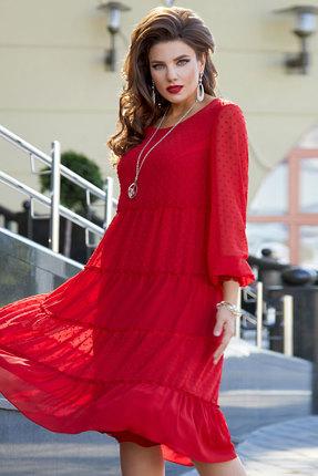 Платье Vittoria Queen 12423 красный
