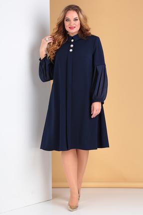 Платье Moda-Versal 2212 темно-синий