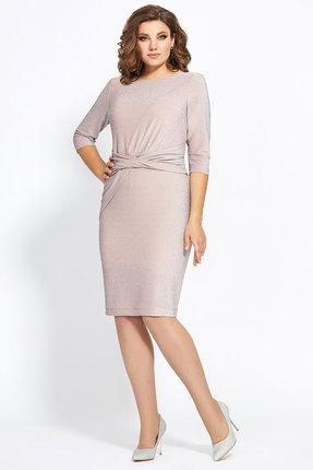 Платье Мублиз 444 бежевый