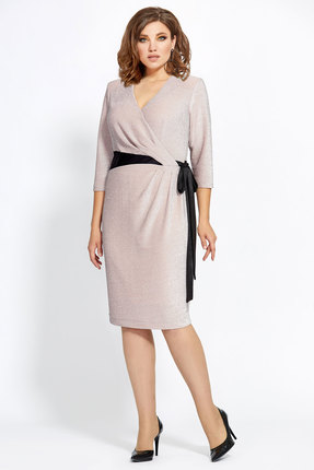 Платье Мублиз 448 бежевый