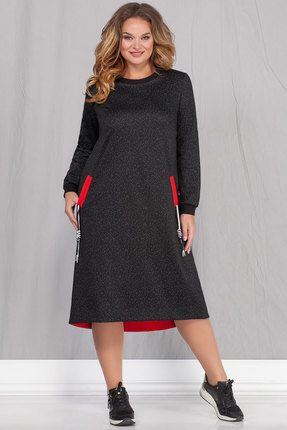 Платье Ivelta plus 1726 черный