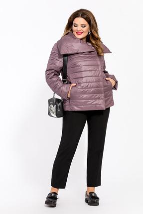 Куртка TEZA 1458 сиреневые тона