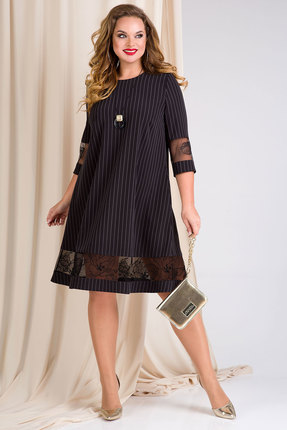 Платье Лилиана 894 черный