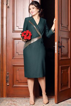 Платье Мода-Юрс 2532 малахит