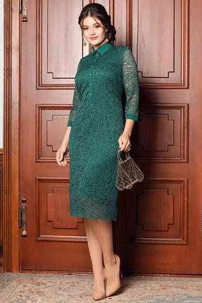 Платье Мода-Юрс 2533 малахит