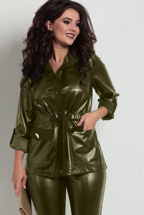 Жакет Solomeya Lux 753-2 темно-оливковый