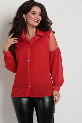 Блузка Solomeya Lux 742 красный