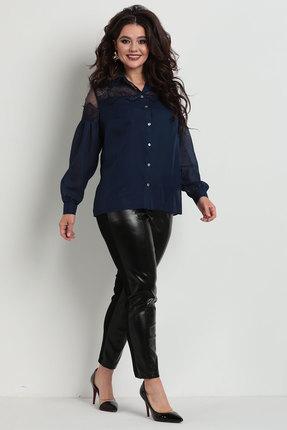 Блузка Solomeya Lux 742 темно-синий