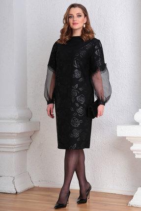 Платье Viola Style 0945 черный