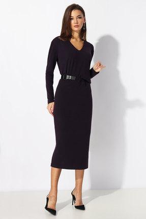 Платье Миа Мода 1198 темно-фиолетовый