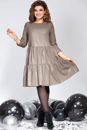 Платье Милора-Стиль 822 капучино