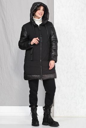 Пальто B&F 4001 черный