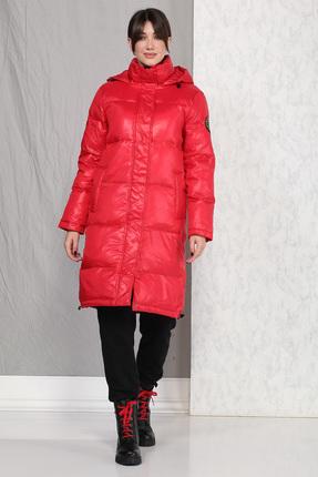 Пальто B&F 4014 красный