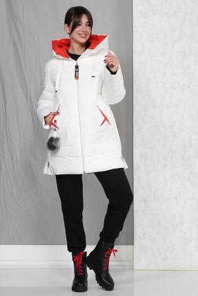 Пальто B&F 4015 белый