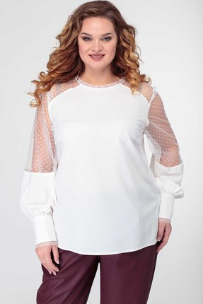 Блузка Anelli 845 белый