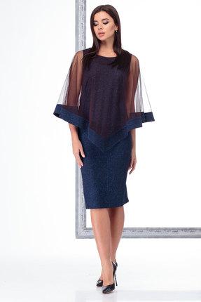 Платье Angelina & Co 465 синий