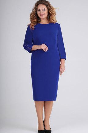 Платье Elga 01-688 василёк