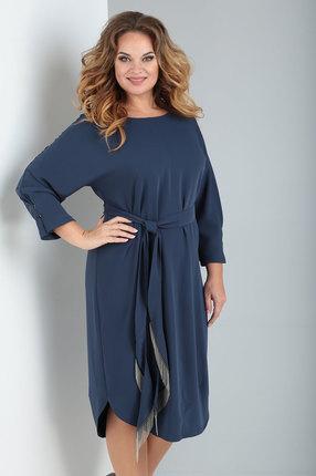 Платье Ollsy 1540 синий
