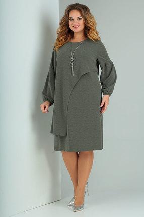 Платье Ollsy 002 оливковый