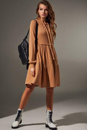 Платье Andrea Fashion AF-65 бежевый