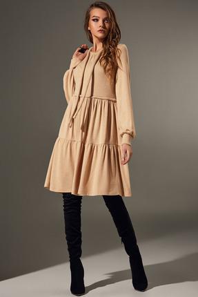 Платье Andrea Fashion AF-65 кремовый