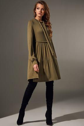 Платье Andrea Fashion AF-65 хаки
