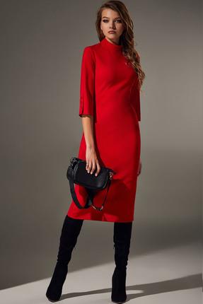 Платье Andrea Fashion AF-66 красный