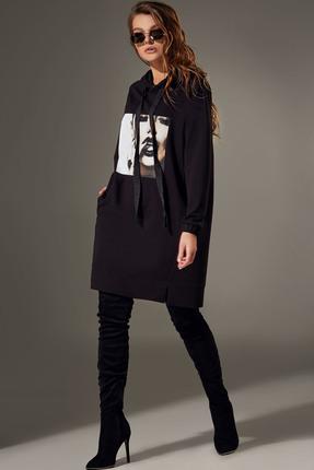 Платье Andrea Fashion AF-77 черный