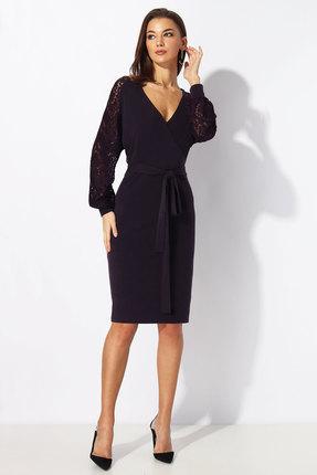 Платье Миа Мода 1199 баклажановый