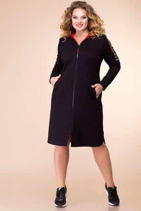 Платье Romanovich style 1-2084 черный