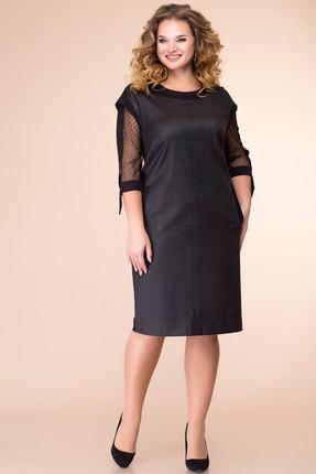 Платье Romanovich style 1-2085 черный
