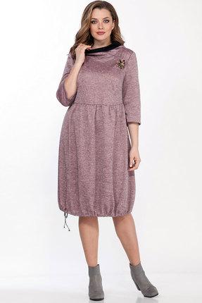 Платье Belinga 1095 розовые тона