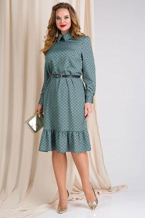 Платье Лилиана 889L изумруд