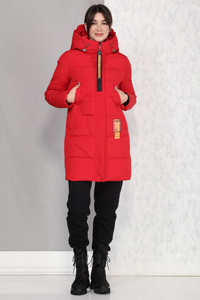 Пальто B&F 4017 красный