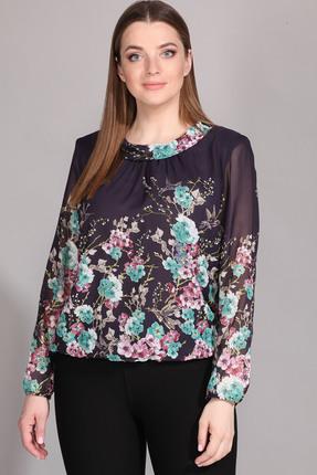 Блузка La Prima 0415 великолепие цветов