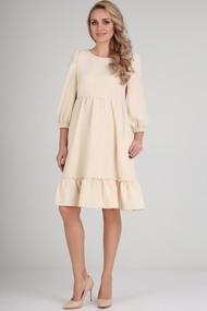 Платье Andrea Fashion AF-116 крем