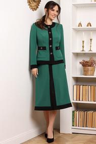 Комплект юбочный Мода-Юрс 2635-1 малахит