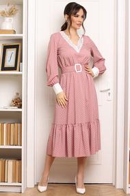 Платье Мода-Юрс 2664 розовые тона