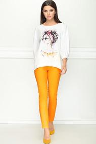 Комплект брючный LeNata 21184 апельсин
