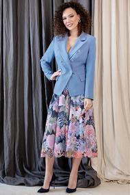 Комплект юбочный Мода-Юрс 2645 сиреневые тона