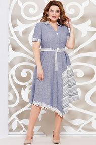 Платье Mira Fashion 4940 синий