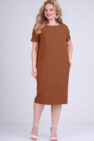 Платье Elga 01-702 корица