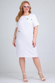 Платье Mamma moda м-710 белые тона