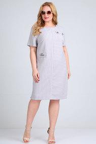 Платье Mamma moda м-710 светло-серые тона