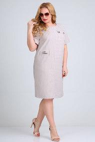 Платье Mamma moda м-710 бежевые тона