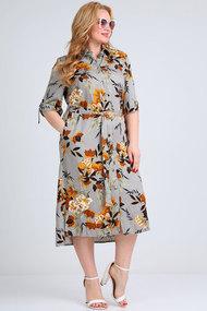 Платье Mamma moda м-702 серые тона