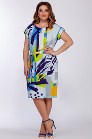 Платье БагираАнТа 706 мультиколор